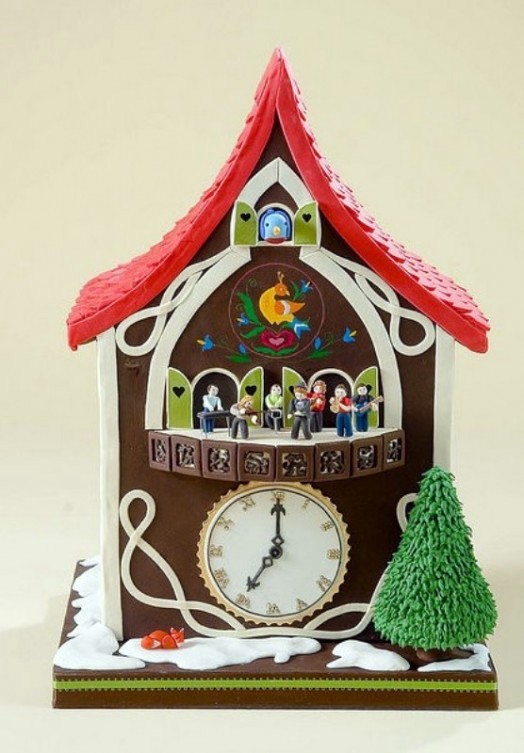 10 cute cuckoo clocks for decoration in children's rooms