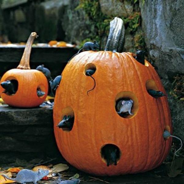 Bastelideen - Halloween decoration do it yourself - festive craft ideas