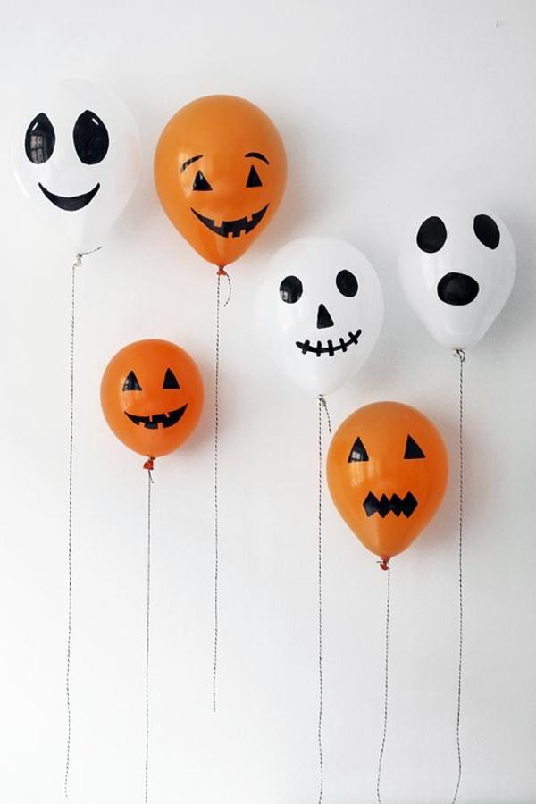 Halloween Deko - Halloween decoration do it yourself - festive craft ideas