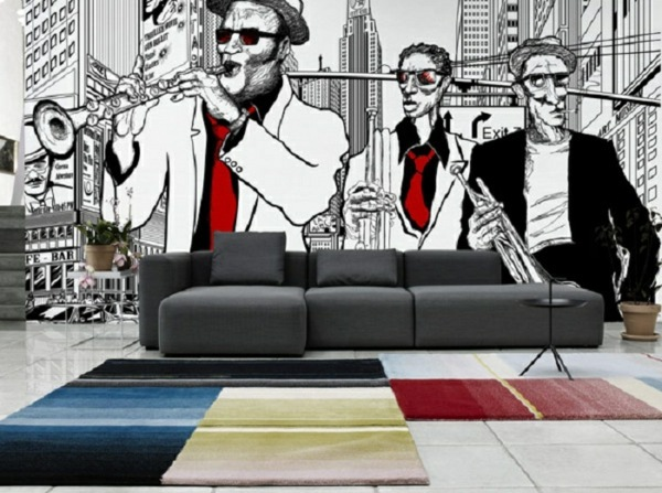 Innovative Wall Decals The New Look Of The Photo Mural Or Not Interior Design Ideas Avso Org