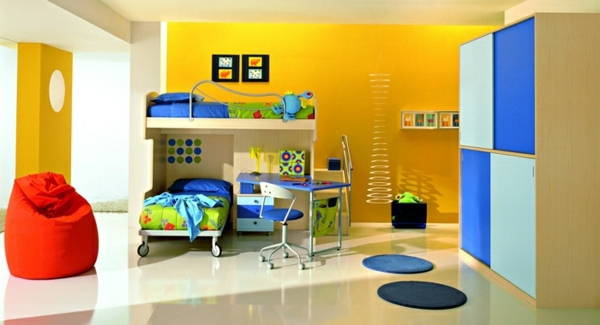 Kinderzimmer - Make young children -A room full of color and love for a little boy