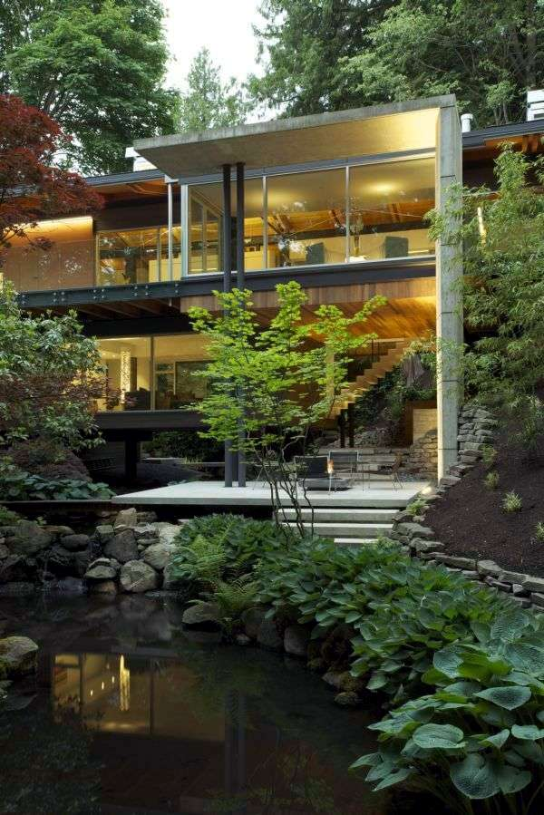 Modern House In The Countryside Southlands Residence In Vancouver Offers With Nature United Interiors Interior Design Ideas Avso Org