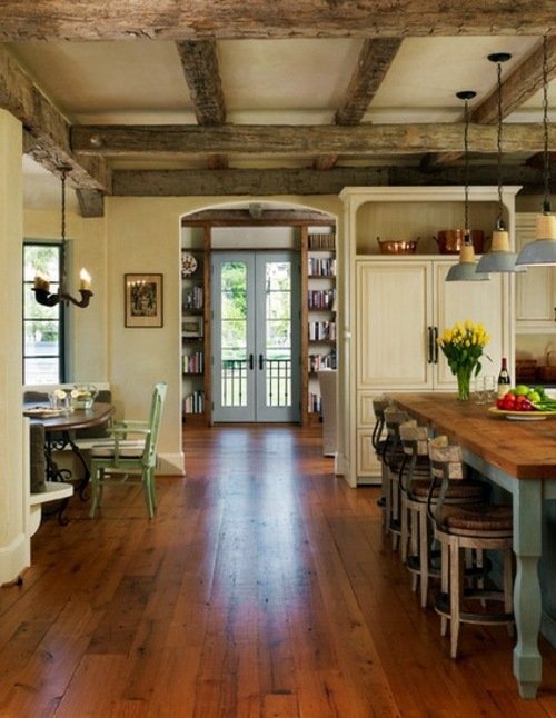 Einrichtungsideen - The country house style home - popular design ideas from the 2013