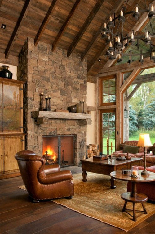 The country house style home - popular design ideas from the 2013