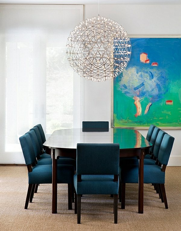 Oversized Ball Lamp Large Pendant Lights In The Dining Room Modern Lamps