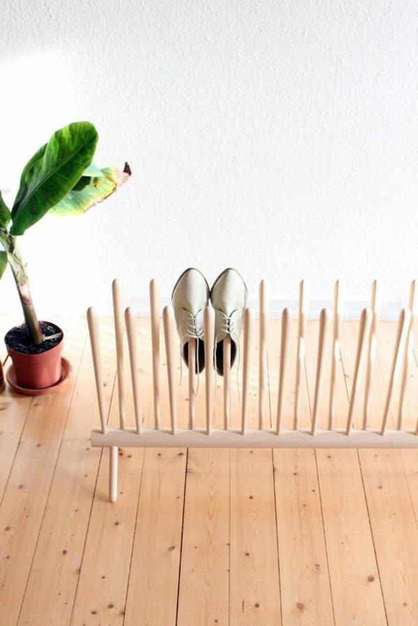 DIY - Do it yourself - Build shoe rack itself - DIY and furniture ideas