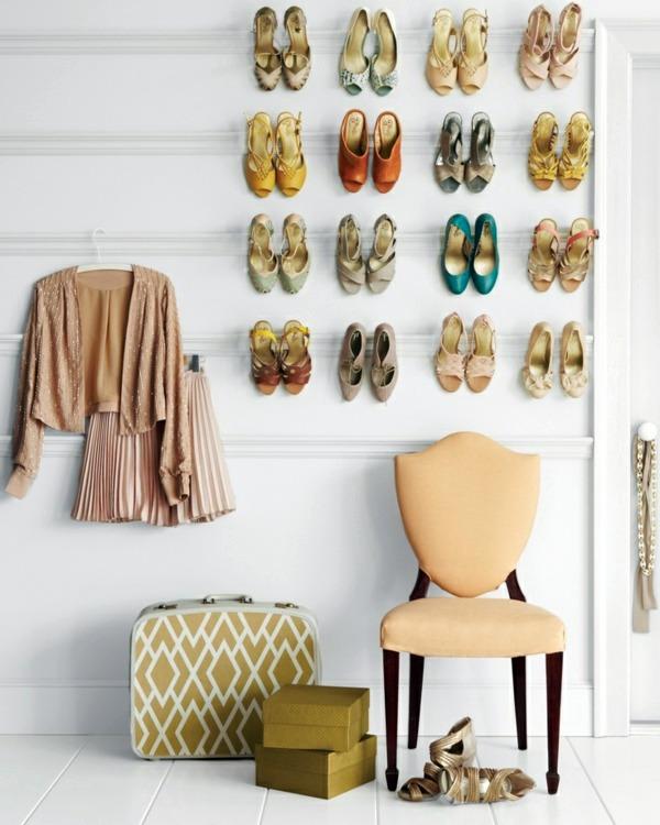 DIY Deko - Build shoe rack itself - DIY and furniture ideas