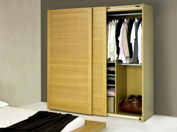 Schlafzimmer Ideen - Modern, massive wardrobe in the bedroom - choose the best wardrobe