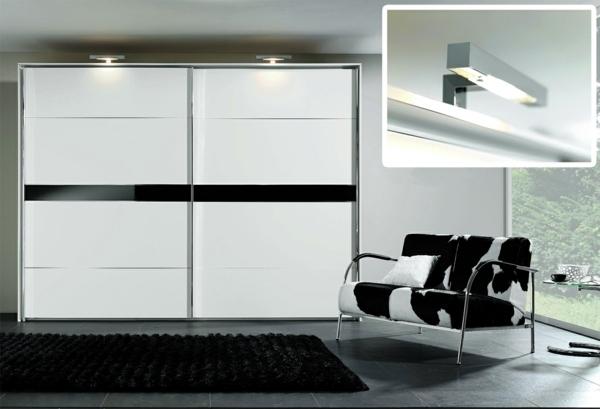 Modern, massive wardrobe in the bedroom - choose the best wardrobe