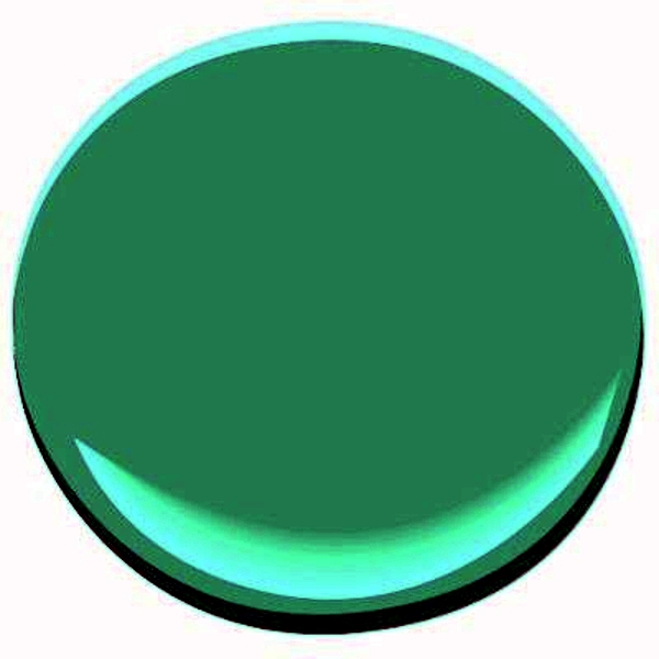 Wandfarbe - Wall color mint green gives your living room a magical flair