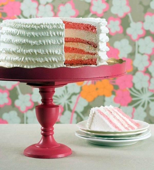 DIY Deko - Tortenetagere - amazing DIY cake stand