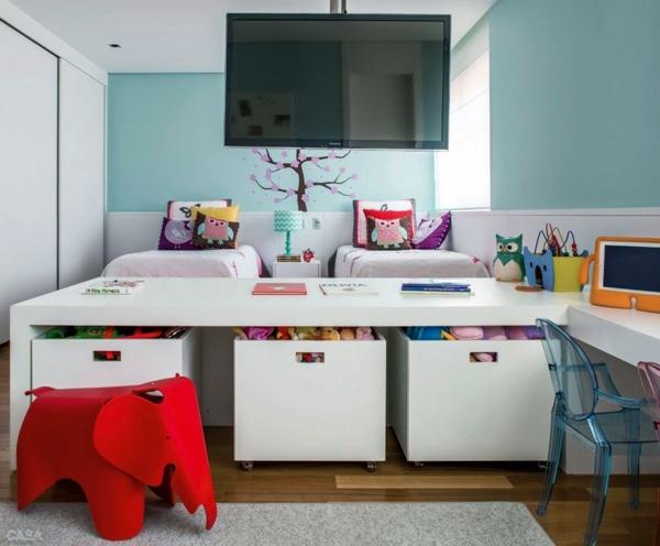 Kinderzimmer gestalten - Children's room design - creative ideas in color