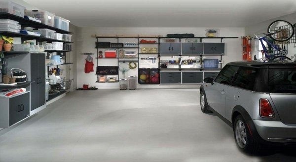 Einrichtungsideen - Order in the garage - How can you get rid of chaos