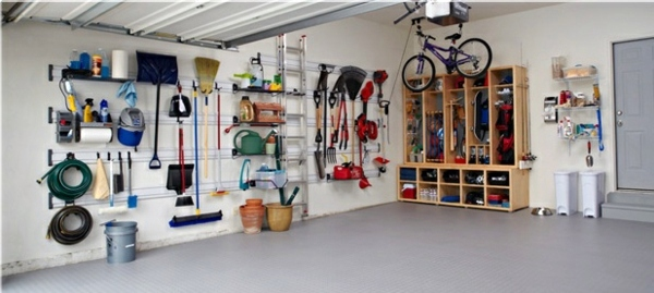 Order in the garage - How can you get rid of chaos