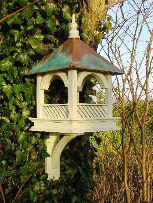 Build Vogelfutterhaus itself