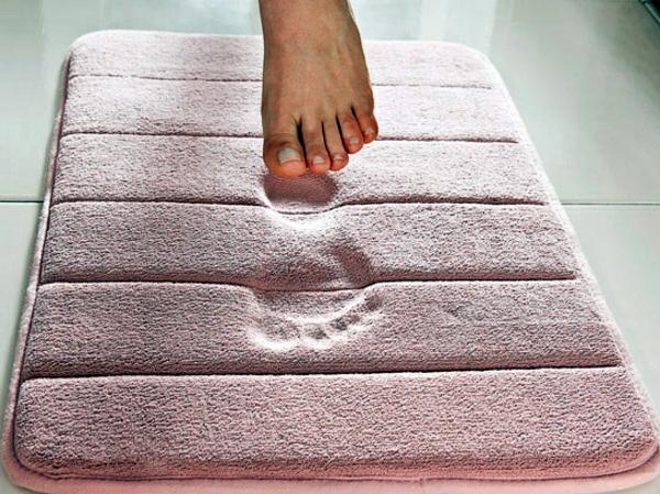 Badezimmer - Bath Mats make your bathroom warm and welcoming act