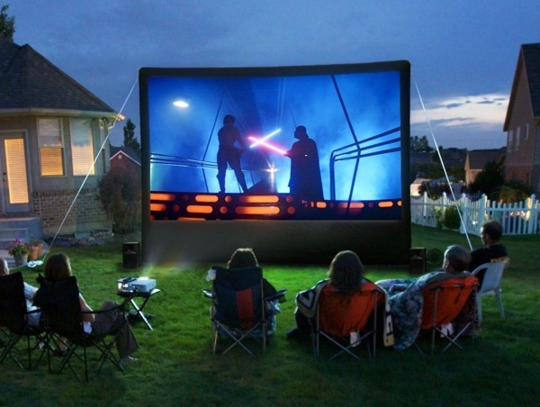 Great home theater set up – for hours watching movies ...