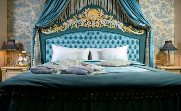 Schlafzimmer - Baroque bedroom furniture - such as the nobles sleep