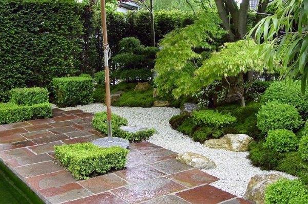 Garten und Landschaftsbau - Creating a Zen garden - the main elements of the Japanese garden