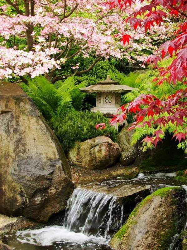Creating a Zen garden - the main elements of the Japanese garden