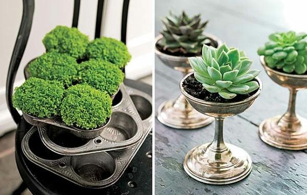 On Funny Gartendeko yourself - DIY Planters