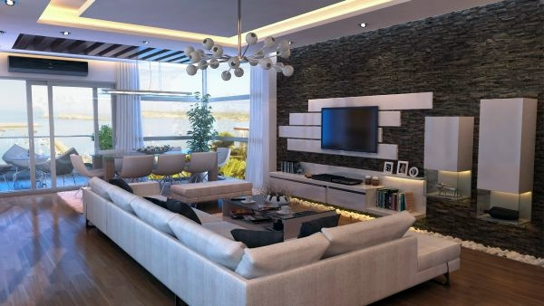 Luxury Modern Living Room Interior Design | www.lightneasy.net