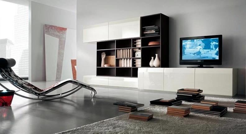 Contemporary Tv Wall Units Interior Design Ideas Avso Org