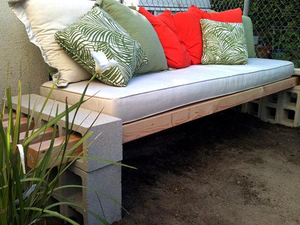Gartenmöbel Set - 10 Cheap DIY Projects for outdoor use