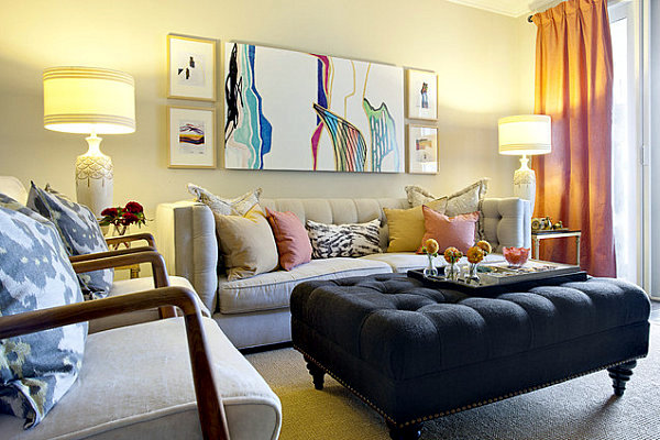 Wohnzimmer einrichten - How can you set up your living room - 17 creative and practical ideas