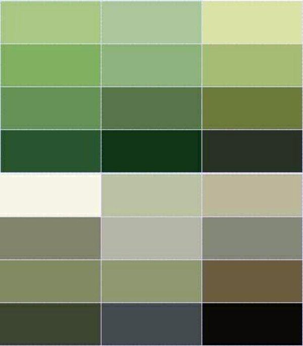 Wall Color Olive Green Relaxes The Senses And Fights Against Daily Stress Interior Design Ideas Avso Org,Exposed Painted Basement Ceiling Ideas