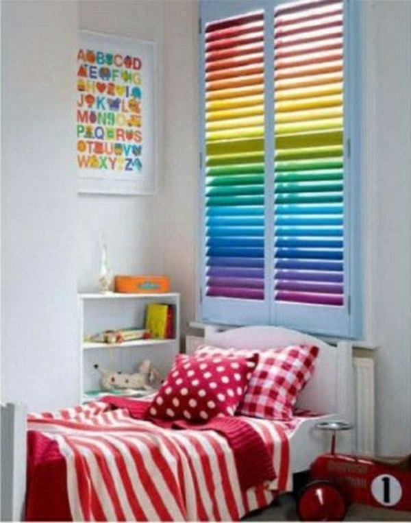 Blackout blind children - colorful patterns and ideas