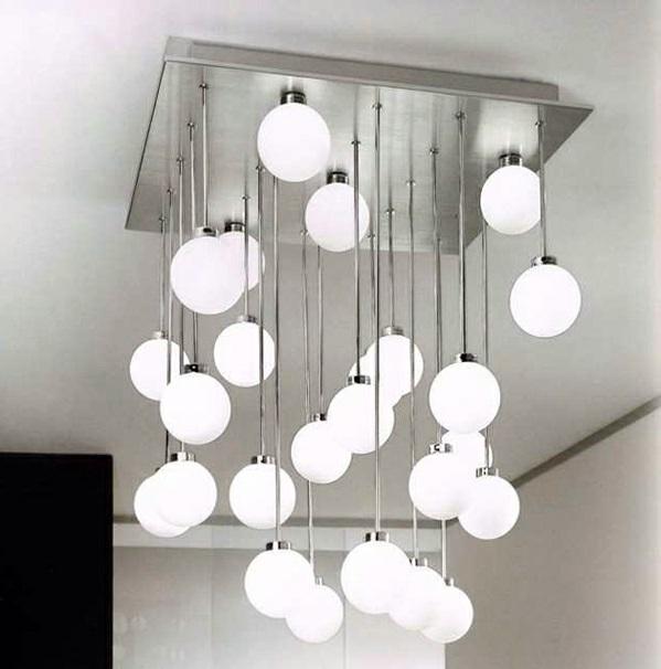 15 modern ceiling lights that catch the eye immediately