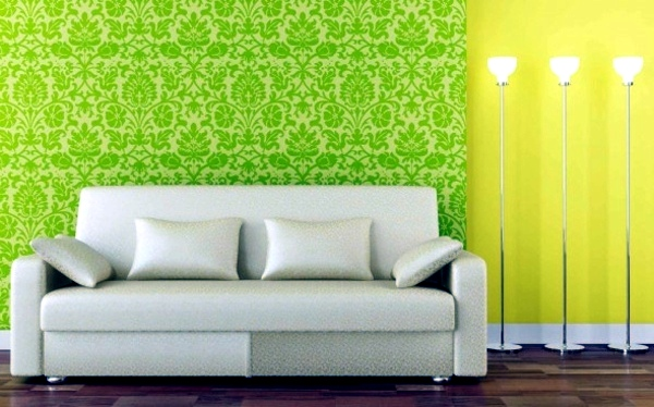 Choose the appropriate color for the living room wallpaper