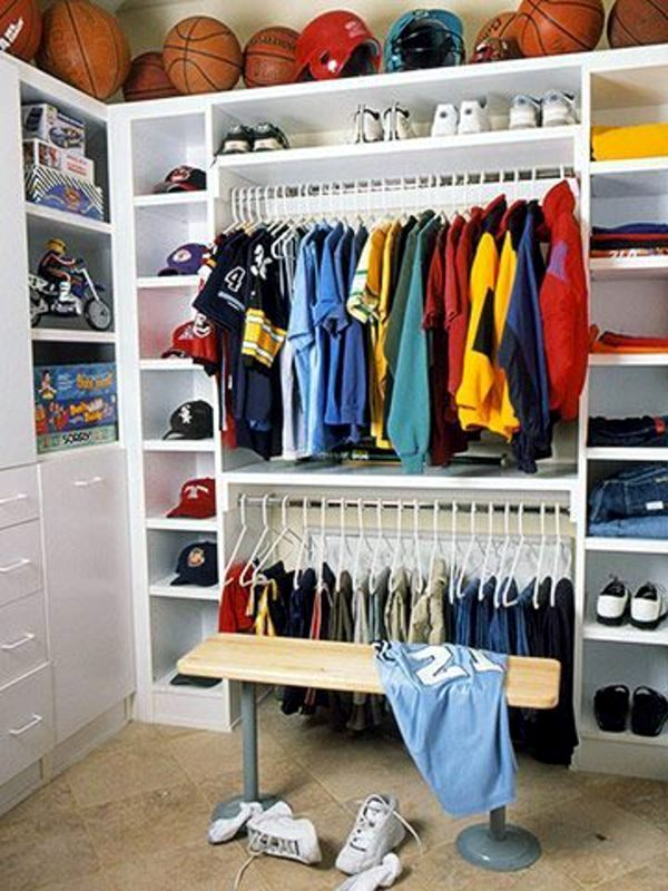 Kinderzimmer - Storage Nursery - practical design ideas