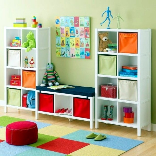 Kinderzimmer gestalten - Storage Nursery - practical design ideas