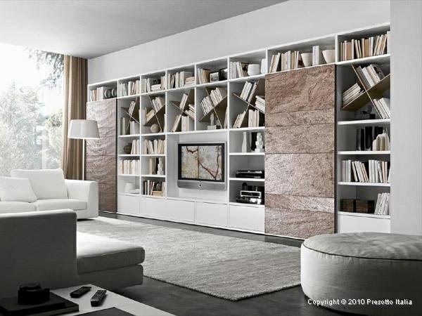 Designer Shelves by Presotto Italia – modern living room ...