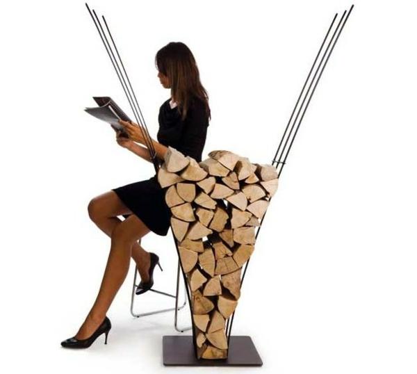 Möbel - Creative firewood rack by Ak47 Design