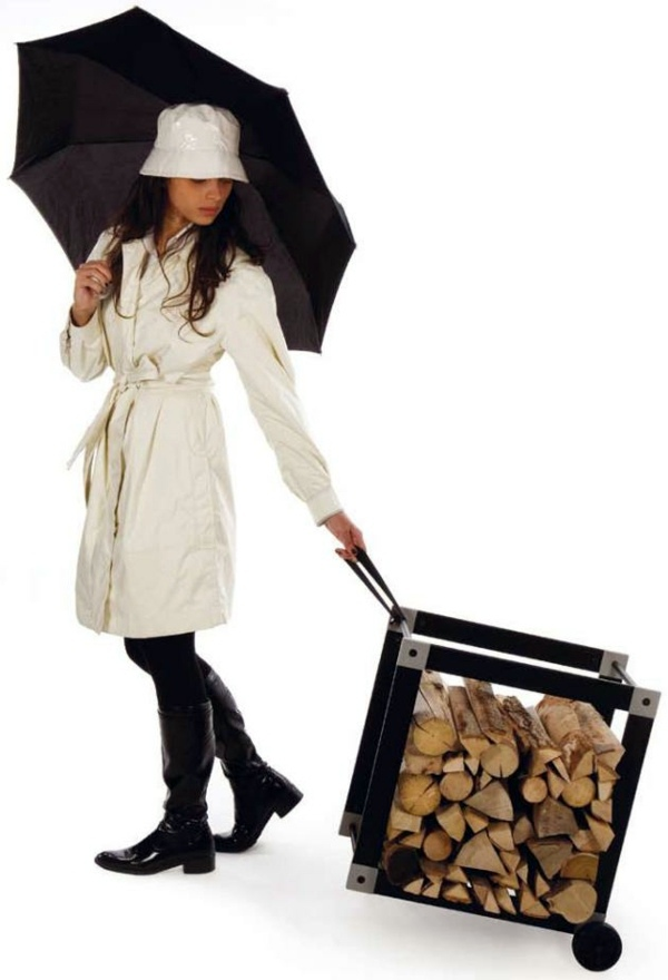 Regale - Creative firewood rack by Ak47 Design