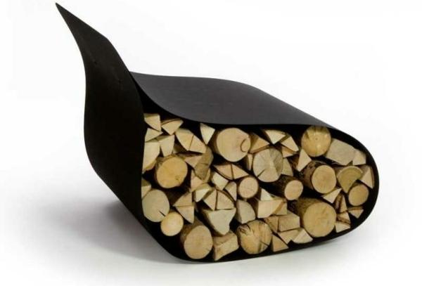 Creative firewood rack by Ak47 Design
