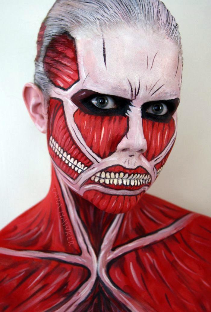 Halloween Makeup Ideas Of A Talented Make Up Artist Interior Design Ideas Avso Org