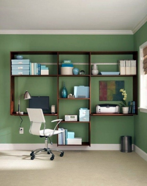 Clever workplace design with more storage space