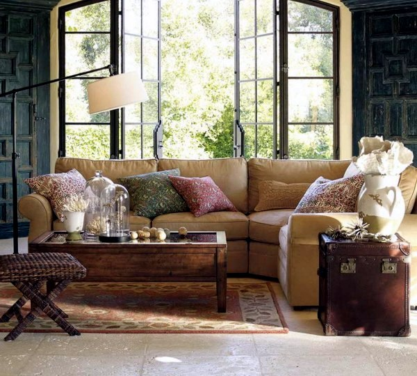 Wohnzimmer einrichten - Wall colors for living room - 100 trendy interior design ideas for your wall decoration
