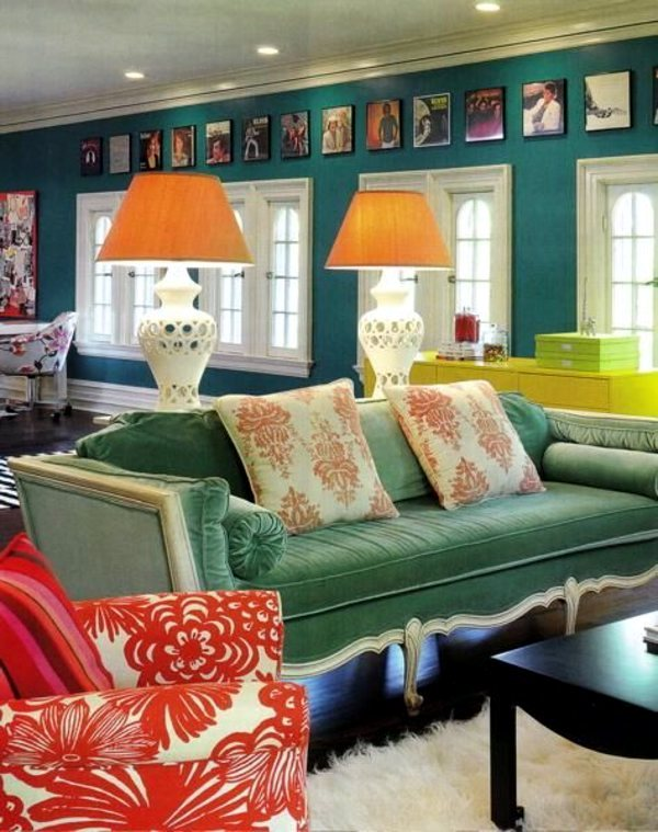 Wall colors for living room – 100 trendy interior design ...