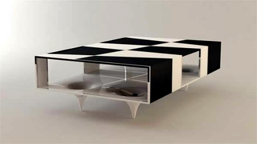 Modern attractive coffee tables for your living room - 50 cool pictures
