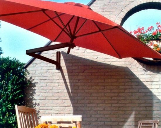 Balcony design - enjoy the summer days in the shade
