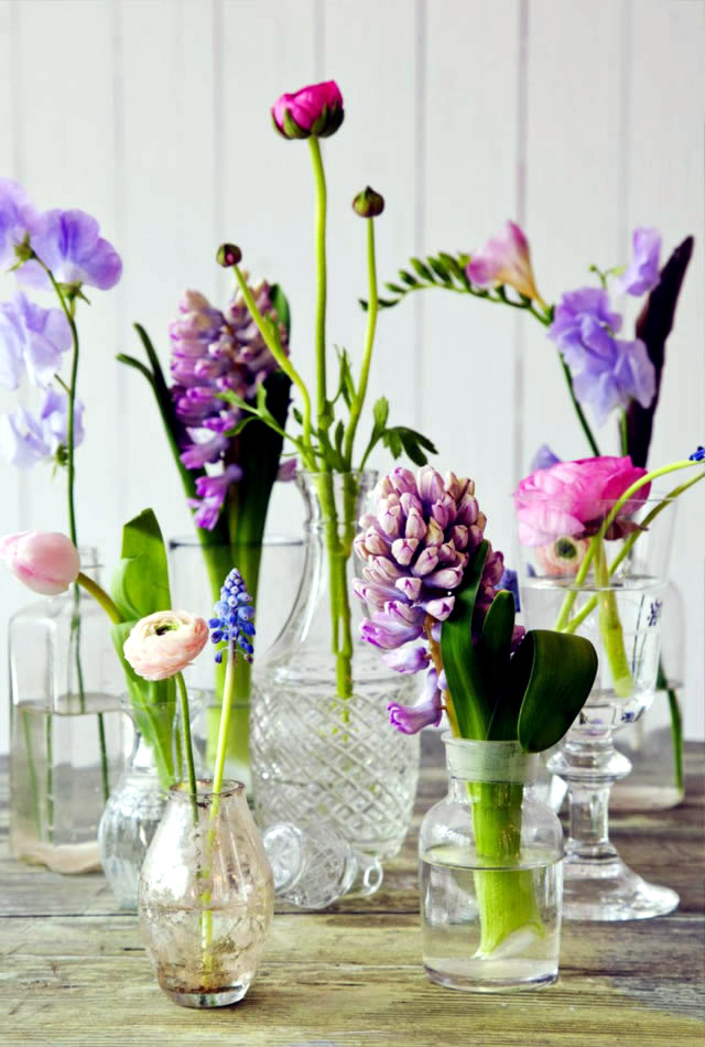 Möbel - Beautiful spring table decoration ideas with flowers