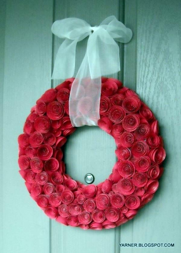 Valentinstag - Paper Rosary Valentine Ideas - itself tinker
