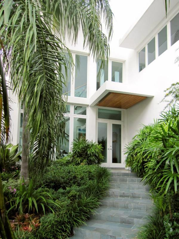 Contemporary - House Awnings - Canopies, canopy and front door glass and wood