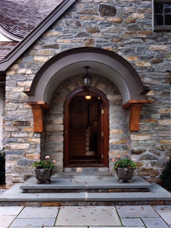 Simple Wooden Door Design Entrance