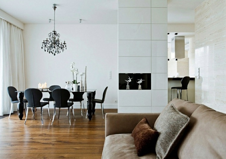 Einrichtungsideen - Cool Decorating tips - a chic, modern apartment in Warsaw